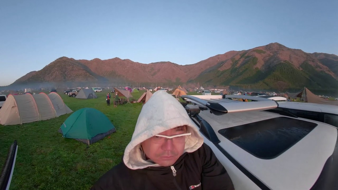4K360°富士山日の出 ふもとっぱらキャンプ場