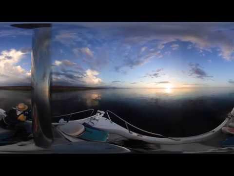 2018/7/2 トレーラブルボートで釣行( 360° 動画)