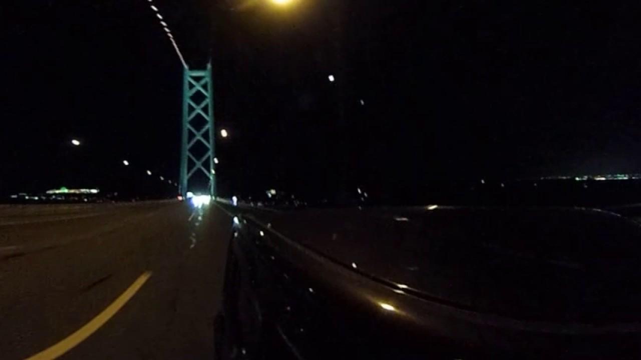 360明石海峡大橋(夜景)