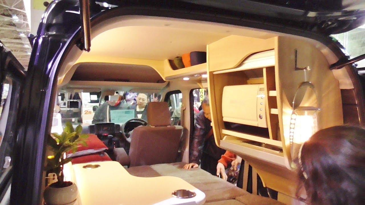 軽キャンピングカー 車中泊 2018 ミニチュアクルーズCOZY スズキエブリイJOINターボ small camping car japan